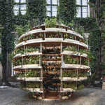CNC: Space-10, Ikea Lab Releases Free Designs For A Garden Sphere That Feeds A Neighborhood
