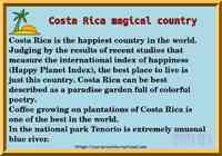 Costa Rica magical country