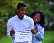 Man Tells Where His Bride-to-be Belongs In Pre-wedding Shoot